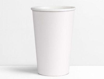 Стакан бумажный белый 500 мл