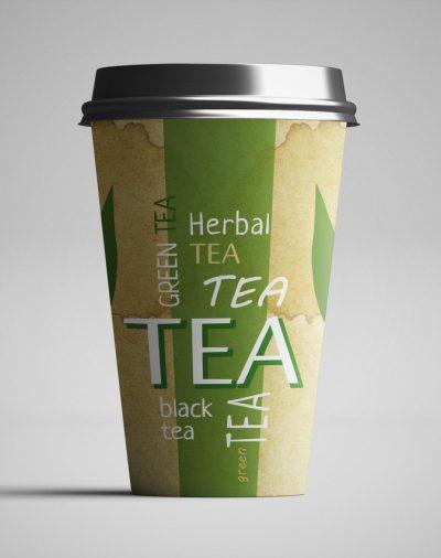 Стакан бумажный Чай 400 мл